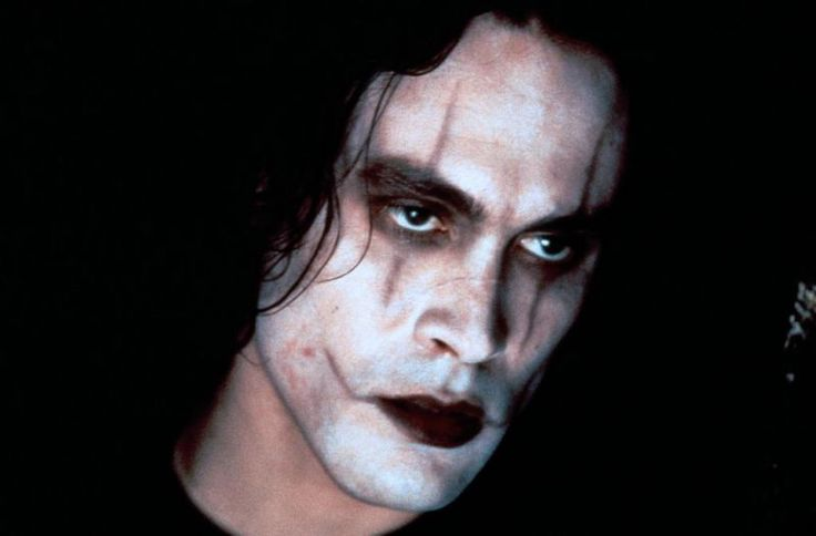 Brandon Lee in The Crow... one of my all time fav movies.