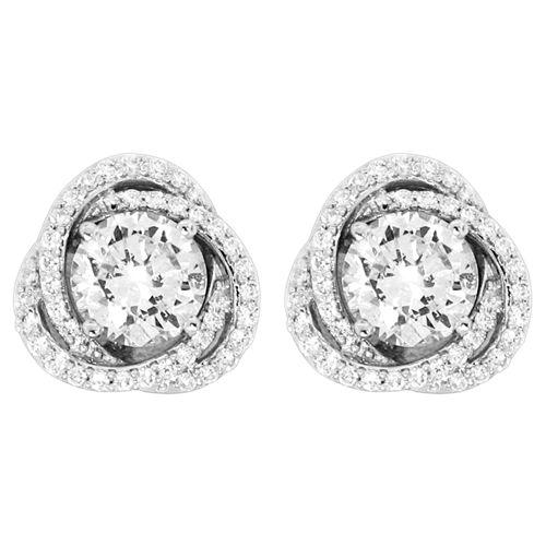 Dazzle her this Holiday Season with Diamond Earrings & Diamond Jackets!  www.houstonjewelry.com