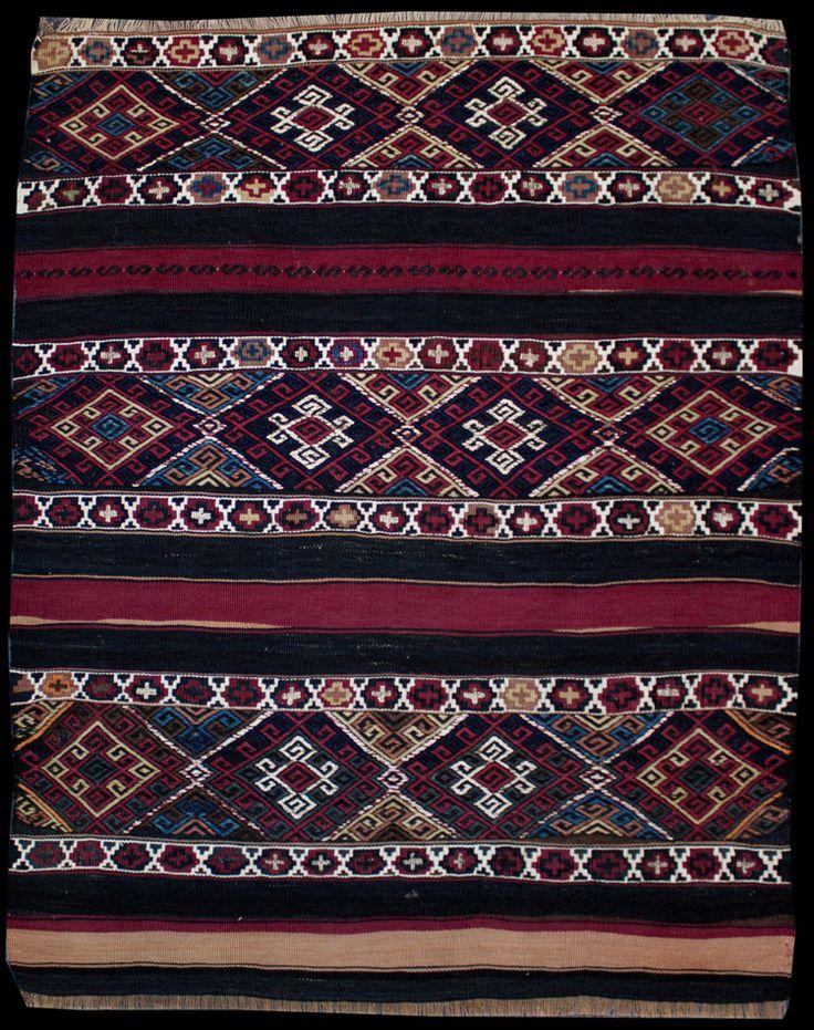 Anatolian Malatya Jijim Kilim  100 x 80 cm