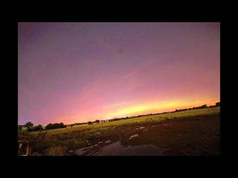 Here is some amazing time lapse footage of the Aurora Borealis over Dublin.