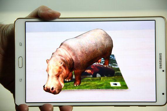 Hippo  cards printable cards kids games games by OrangeKiteLabs