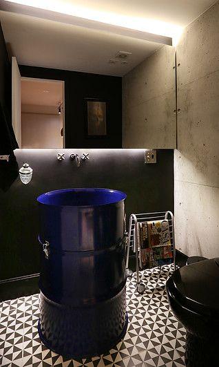 Casinha colorida: Especial banheiros e lavabos 2016: criando o estilo loft