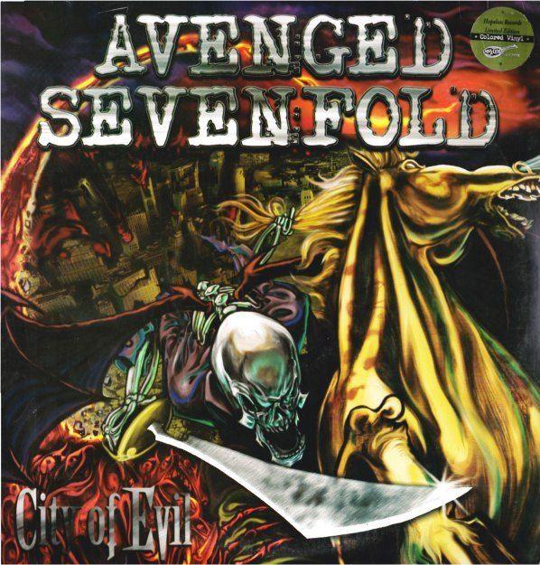 Avenged Sevenfold - City Of Evil (2 LP)