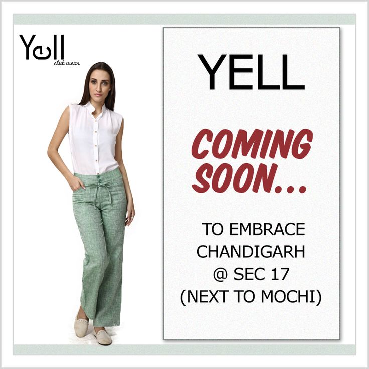 Coming soon in Chandigarh.