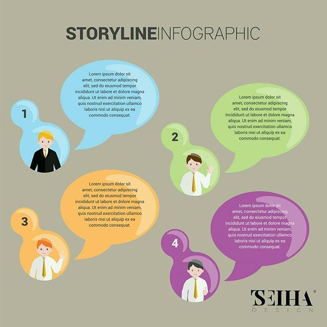 Business storyline infographic template, complete with business avatars, now is available online in the link on my bio. . Software compatibility: Adobe Illustrator CS and newer.  #tseihadesign #business #story #storyline #infographic #templates #avatar #businessman #businessmen #suit #suits #callout #color #vector #colorful #design #illustrator #illustration #creativityfound #creative #creation #creativity #insta #inspiration #instagood #instagram