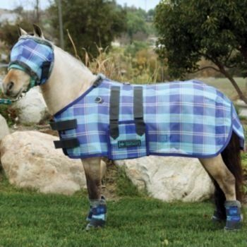 Kensington KPP Mini Horse Protective Fly Sheet by Kensington. $67.68. Sheet can be layered over Kensington blanket to last longer & for added protection. Made of Textilene/Grooming Mesh. Blocks harmful UV rays & prevents insect bites, dirt/grime on the coat while out to pasture. Maximum year-round protection. Double locking Hook and Loop closure at the chest, a full belly wrap with double locking Hook and Loop closures, & removable elastic leg straps. Your Min...