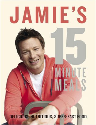 Jamie Olivers 15 Minute Meals is a great series and the book is wonderful for those quick meals.