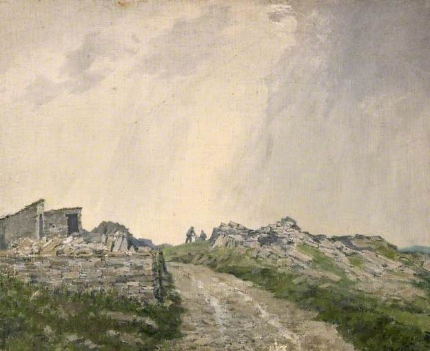 Purbeck Stone-Thomas Flowerdy Clarke, 1935