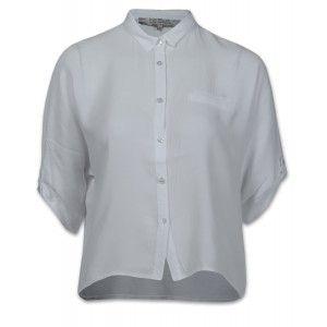 La Fée Maraboutée FA3320 Damen Bluse Weiß