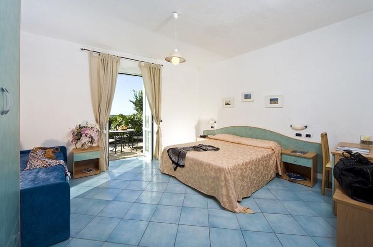 Triple Ensuite Room with a Private Terrace   at Hotel Poggio del Sole
