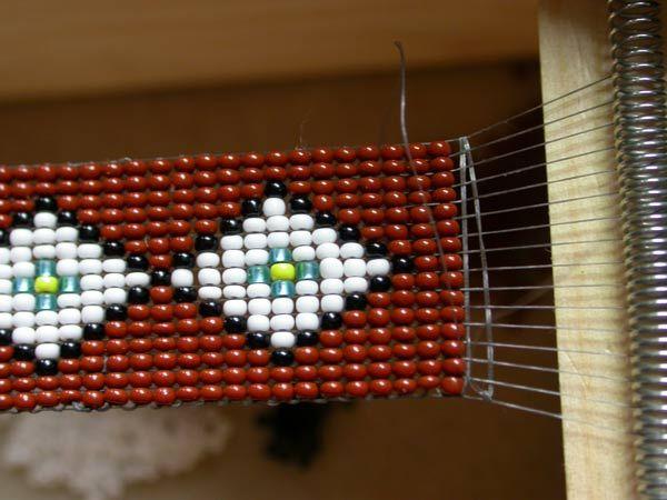 Loom Beading Indian Bead Weaving Patterns Chain Weaving