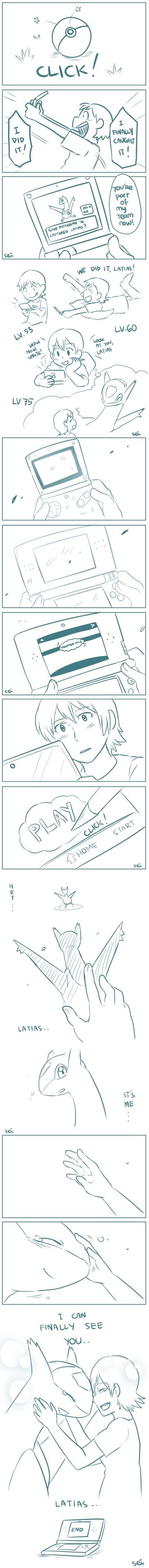 Latias is my favourite pokemon too :)