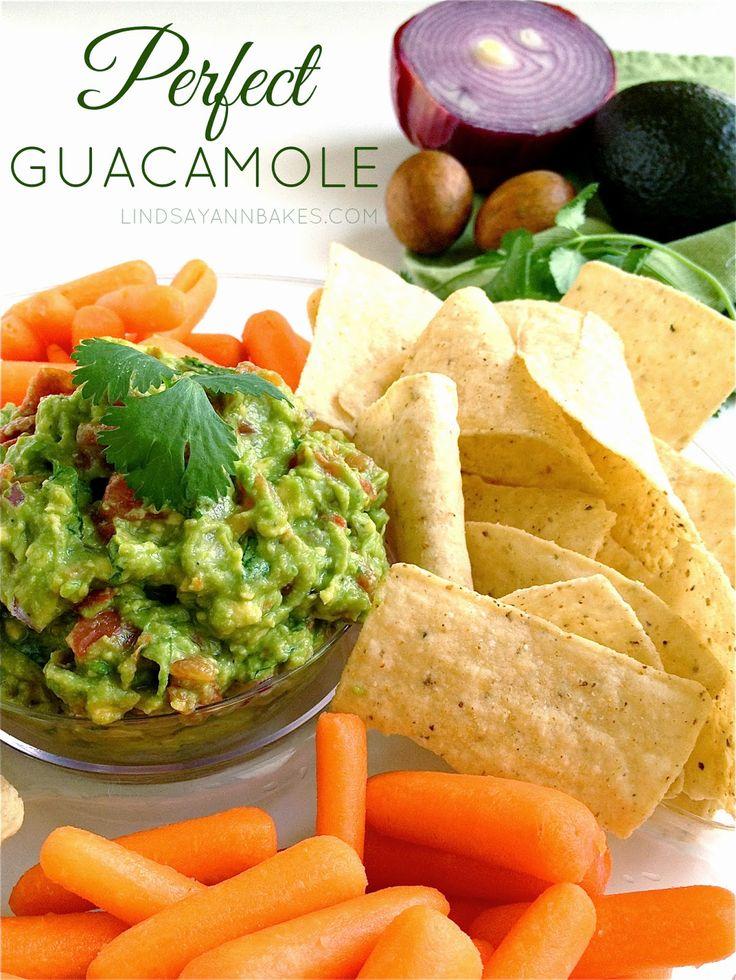 Lindsay Ann Bakes: Perfect Guacamole