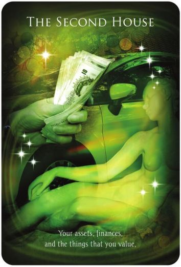 The second house - Alison Chester-Lambert  - Astrology Reading Cards Your Personal Journey in the Stars http://astrologyclub.org/second-house/