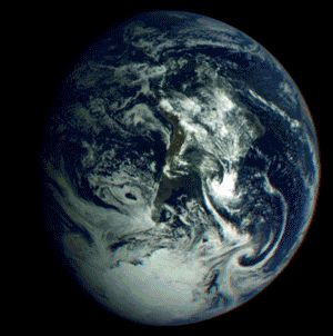 The black and blue marble: 10 whole Earth views from space
