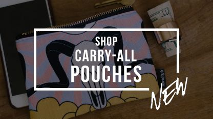 Shop Wandering Wattle's Society6 store for Carry-All Pouches featuring unique art by Wandering Wattle. Worldwide shipping available.