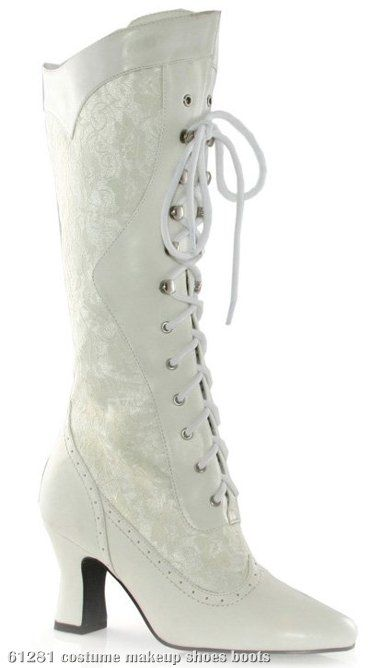 67fc3657ac2 Rebecca Adult Boots Description  You ll be the sexy Southern Belle! A  lace-up boot that s perfect for a sexy Southern look