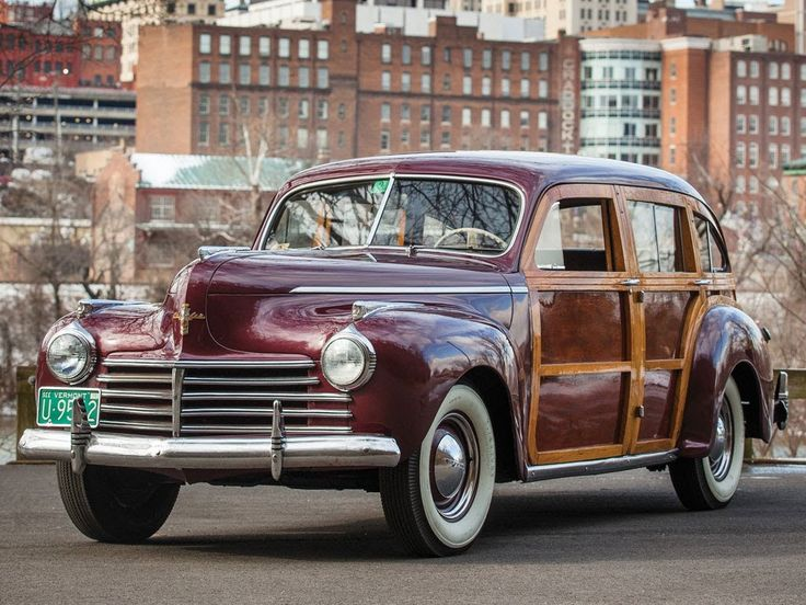 1941 Chrysler Town and Country Nine Passenger Barrelback Station Wagon
