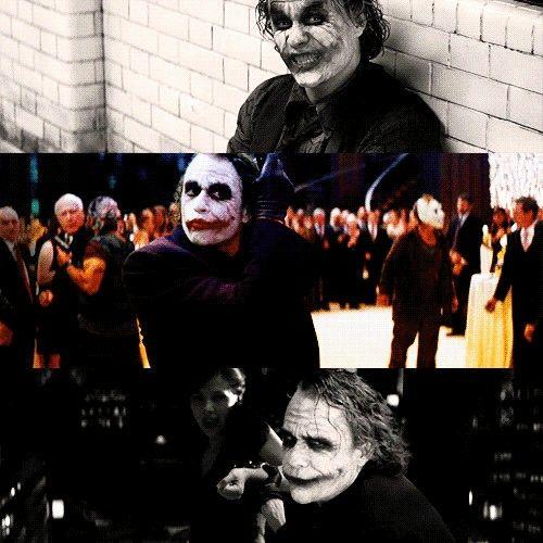 Joker en The Dark Knight