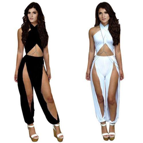 GK-Damen-Overall-BodyCon-Lang-Jumpsuit-Bodysuit-Clubwear-Catsuit-Hose-Spielanzug