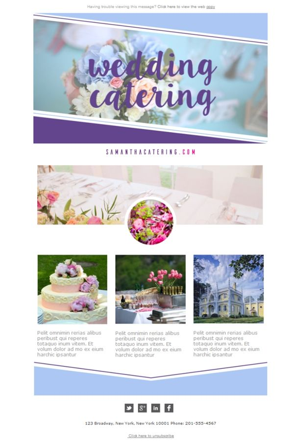10 best images about Email Templates for Catering Services on ...