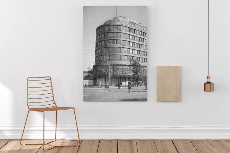Wood print with vintage photo | Beyondprint