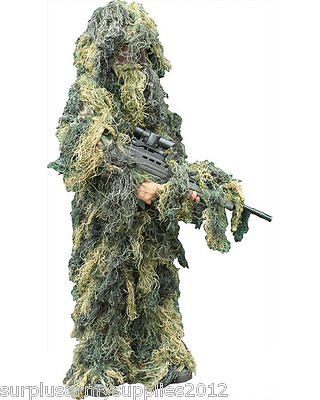Boys army #fancy dress ghillie suit #jacket trousers camo kids costume #camoflaug,  View more on the LINK: http://www.zeppy.io/product/gb/2/322008498341/