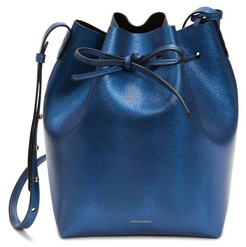 Le sac sceau bleu Mansur Gavriel x colette