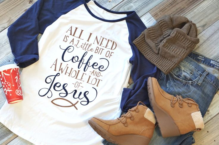 Coffee & Jesus Shirt:  64% off retail for just $12.60 this week only!