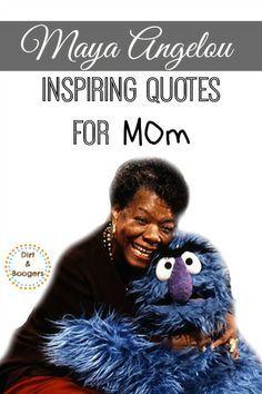 Maya Angelou made me a better parent.