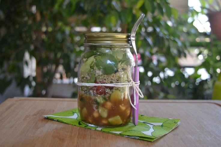 Perfect Salad in a Jar