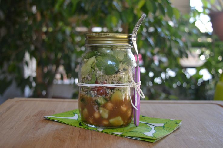 Perfect Salad in a Jar