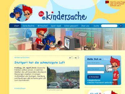 Kinderseiten, Suchmaschine für Kinder - Blinde Kuh