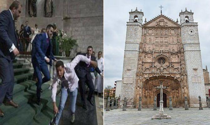 ΙΣΠΑΝΙΑ: #Μουσουλμάνος φωνάζοντας «Αλλάχ ακμπάρ» διέλυσε γάμο σε εκκλησία