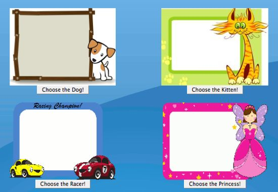 Fun colors and creatures for kids to enjoy on there email account page at www.kidsemail.org.