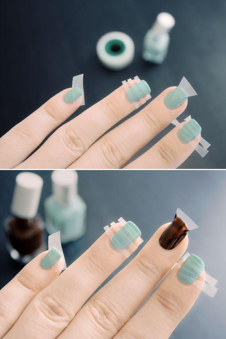 How to... Do nail art #Nail #Stripes