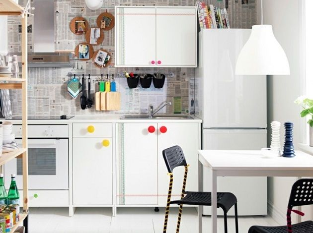 Decor inspiration how to add color to your kitchen ikea ideaskitchen wallskitchen dininginterior decoratinghome