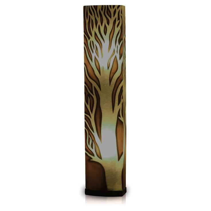 Crafted Home Decorative Ellis Geometric Transitional Floor Lamp