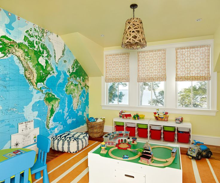 Sumptuous toy organizer with bins in Kids Beach Style with World Map next to Robin's Egg Blue Ideas alongside Twin Room and World Map Mural…