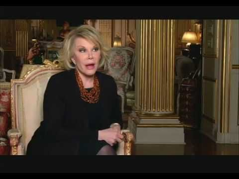 Sheffield Doc/Fest 2010: Joan Rivers The Making of A Piece of Work - YouTube  #RIP Joan Rivers. <3 <3 <3