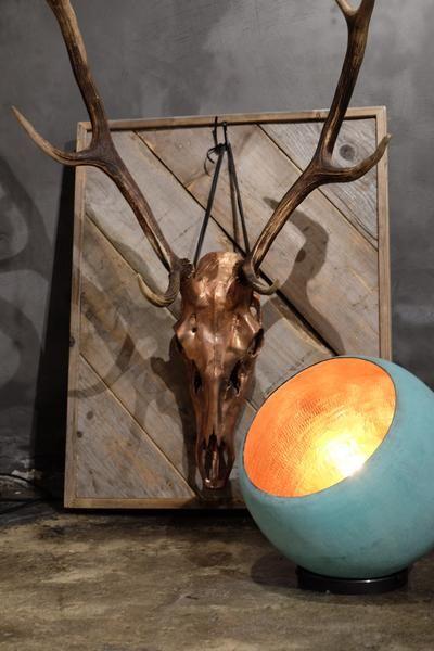 One Funky Kobberlampe - Patineret lampe - køb den her – Rackbuddy