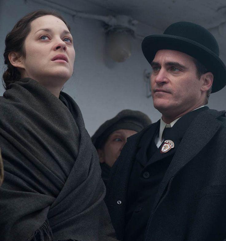 """Joaquin Phoenix y Marion Cotillard en""""El Sueño de Ellis"""" (The Immigrant), 2013"""