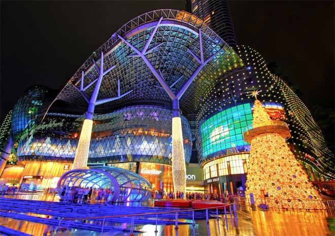In #Singapore do not miss the #food #fun & #shopping @Ion_Orchard! #travel: Shopping Mall, Orchards, Holiday Lights, Christmas Lights, Asia, Travel, Singapore