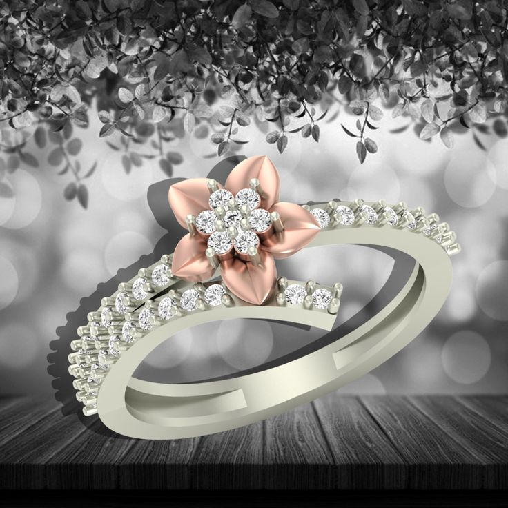 Keep your accessories matching to this season! Shop Now : https://jewels5.com/Collections/Elite/Rosy-Diamond-Ring #Elite #NewCollection #NewArrivals #NewLaunch