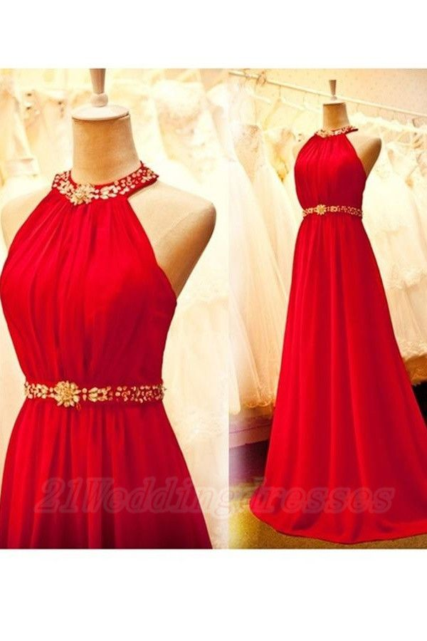 Sparkly Long Light Red Chiffon Prom Dresses,Charming Prom Gowns http://21weddingdresses.storenvy.com/collections/919470-prom-dresses/products/9446089-sparkly-long-light-red-chiffon-prom-dresses-charming-prom-gowns