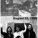 TIL that the first and last photographs of all four of the Beatles together were taken exactly seven years apart (August 22 1962 and August 22 1969)