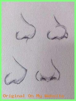 Art Sketches Tumblr – Nose practice, looks a bit dodgy XD More | Drawing Tips, Nose Drawing, …
