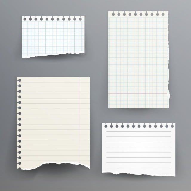Notebook Papers With Torn Edge Paper Clipart Notebook Paper Png And Vector With Transparent Background For Free Download Notebook Paper Notebook Paper Template Free Paper Texture