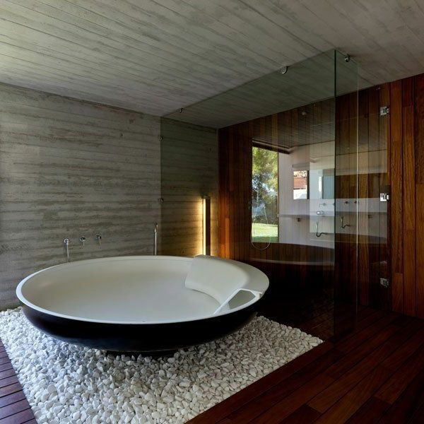 badezimmer freistehende badewanne luxus badezimmer moderne badezimmer badewanne rund luxus kche moderne innenarchitektur badewannen wohnungen - Modernes Luxus Badezimmer