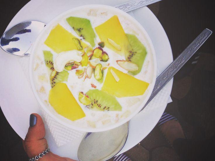 Rich and creamy fruit cream from Haji Ali